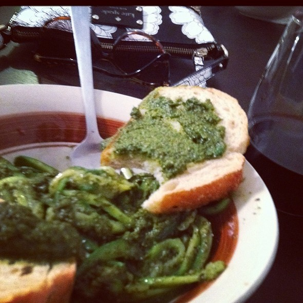 Pesto And Zuchini Pasta @ Home