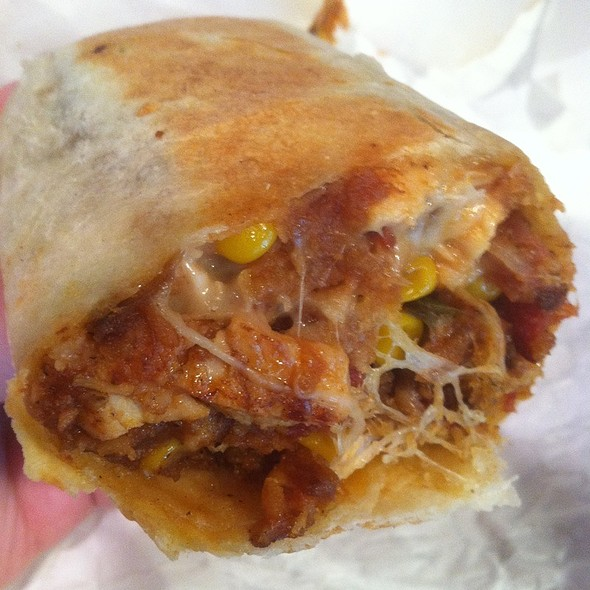 Bbq Chicken Burrito