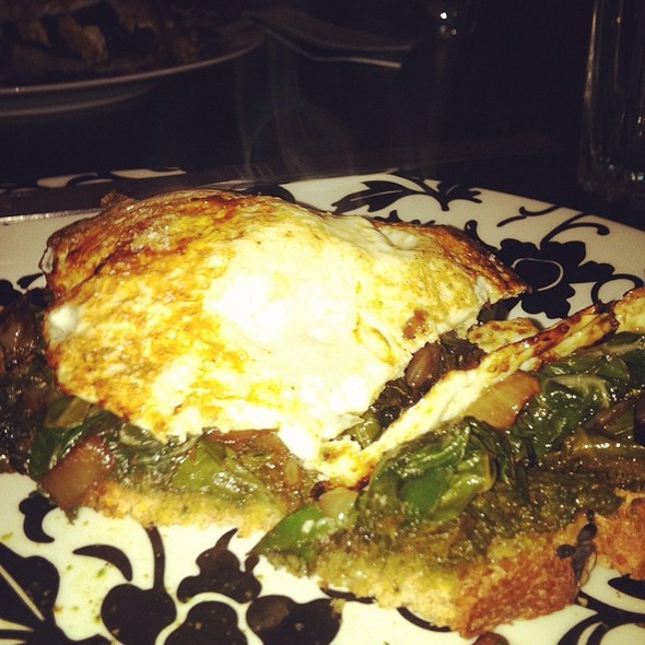 Chard And Fried Egg Sandwich @ Home