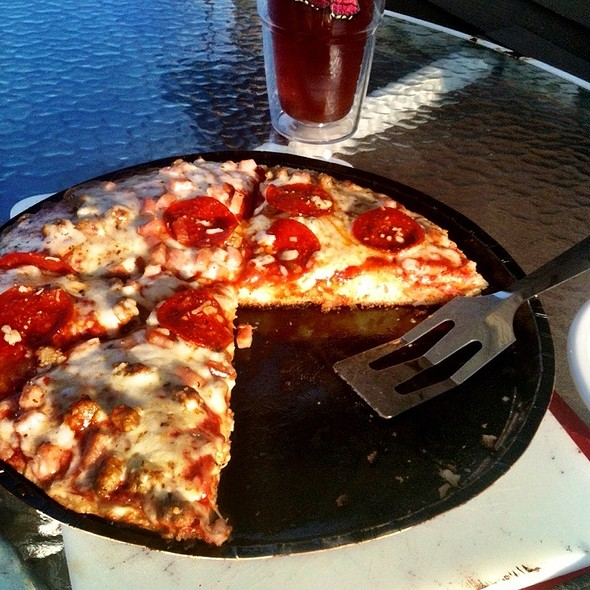 Meat Lovers Pizza @ Our Place
