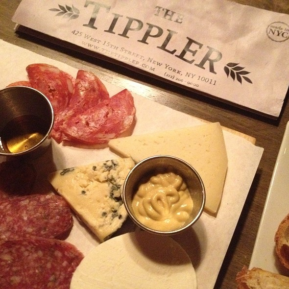 cheese & charcuterie plate @ The Tippler