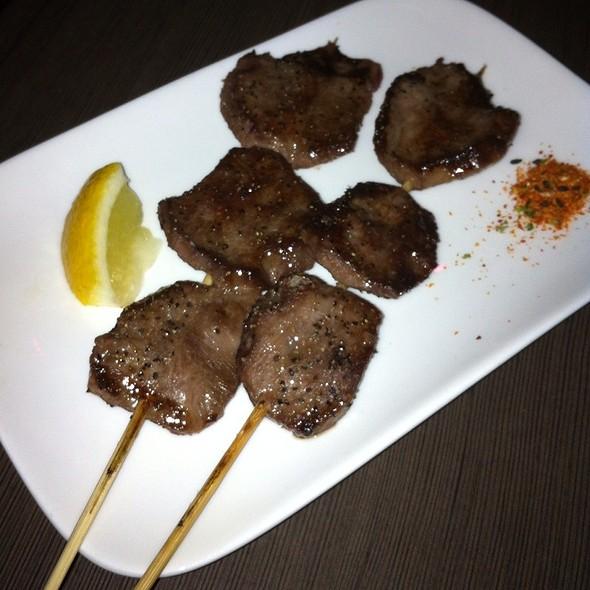 Beef Tongue Yakitori @ Gaijin Noodle + Sake House