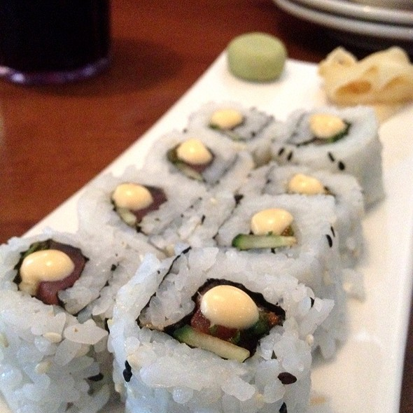 Spicy Tuna Roll @ Splitsville