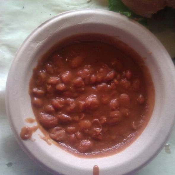 Baked Beans @ Big Mouth