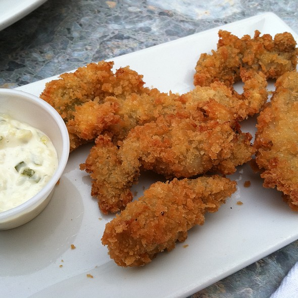 fried oysters @ Harry's Oysters Bar