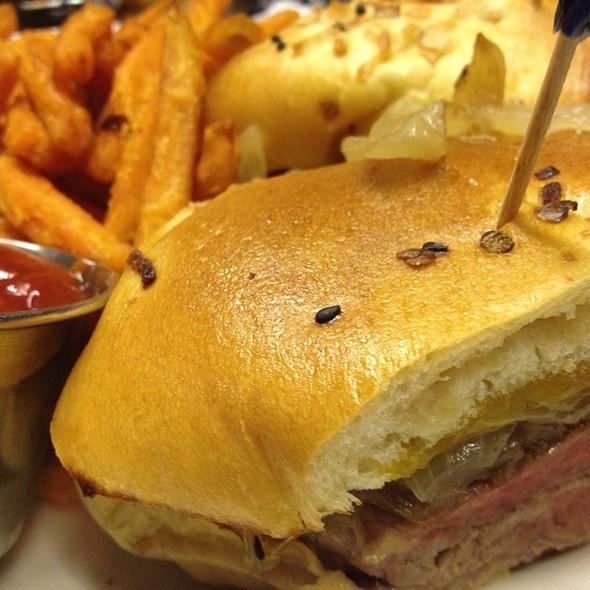 Cheese Steak Sandwich @ Heartland Brewery