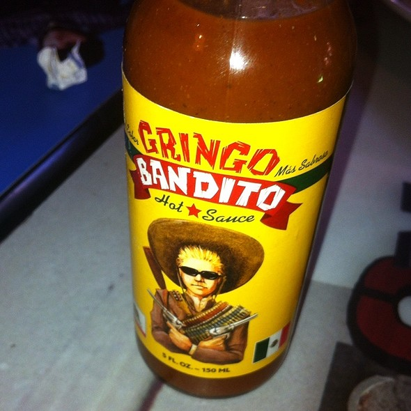 Gringo Bandito Hot Sauce @ Wahoo's Fish Tacos