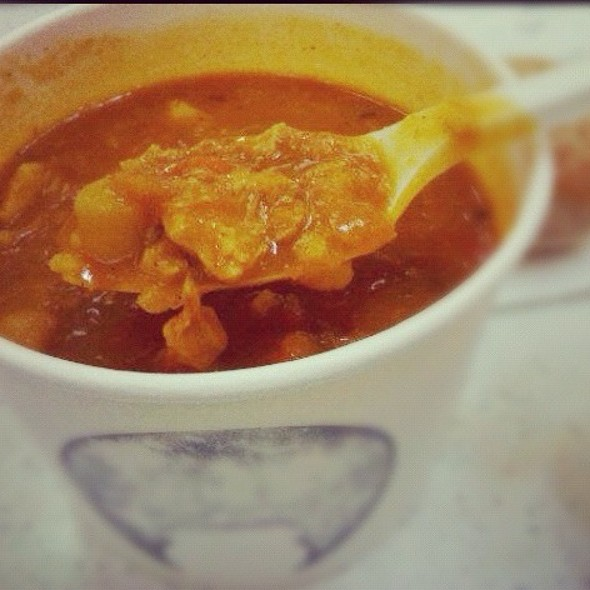 Moroccan Chicken Soup @ The Soup Opera Chadstone