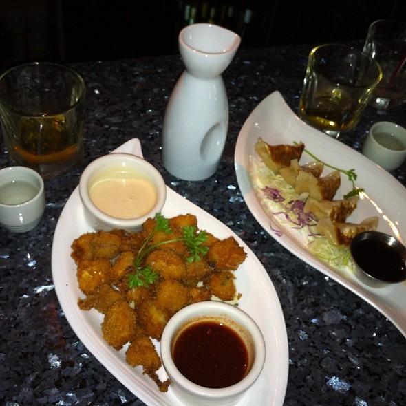 Calamari with Chili Tofu Sauce @ Kubo's Sushi Bar & Grill