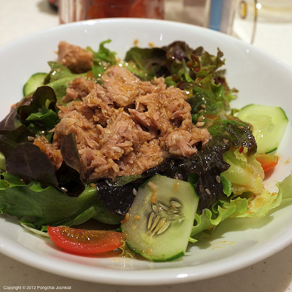 Tuna Salad @ Curry House Coco Ichibanya @ Central Plaza Grand Rama 9