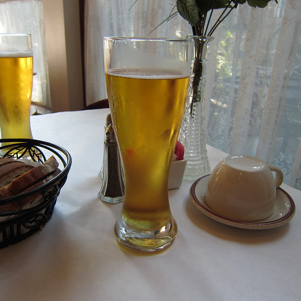 Czechvar Beer @ Klas Restaurant