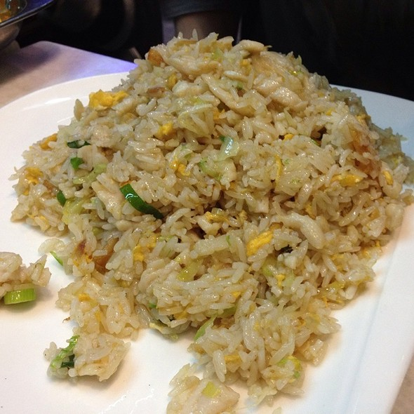 Chicken with Salty Fish Fried Rice @ Little Singapore Restaurant