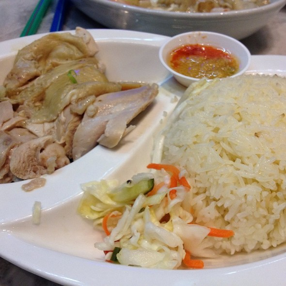 Hainanese Chicken Rice @ Little Singapore Restaurant