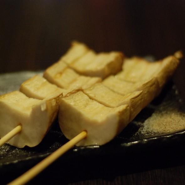 Grilled Mushrooms @ 天狗串燒居食