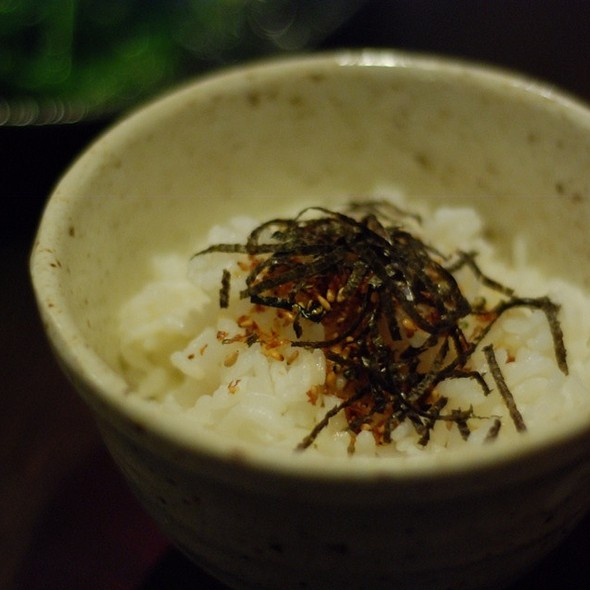 Steamed Rice With Seaweed