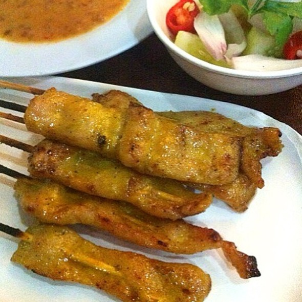 Pork Satay @ เปรี้ยวปาก