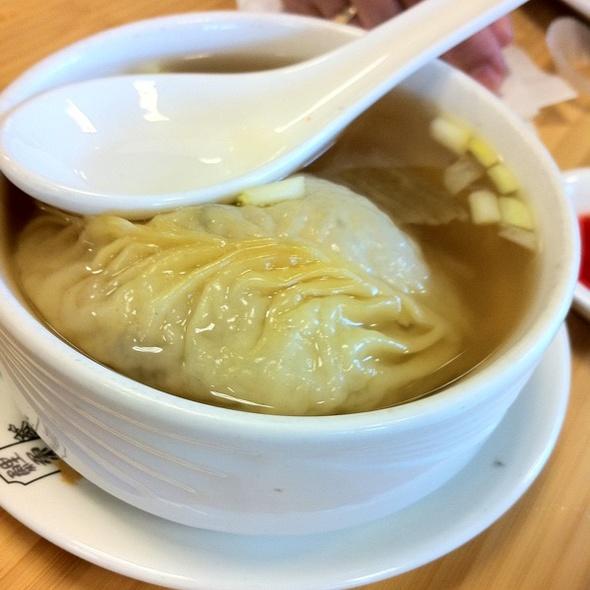 Sharks fin soup dumpling @ Koi Garden