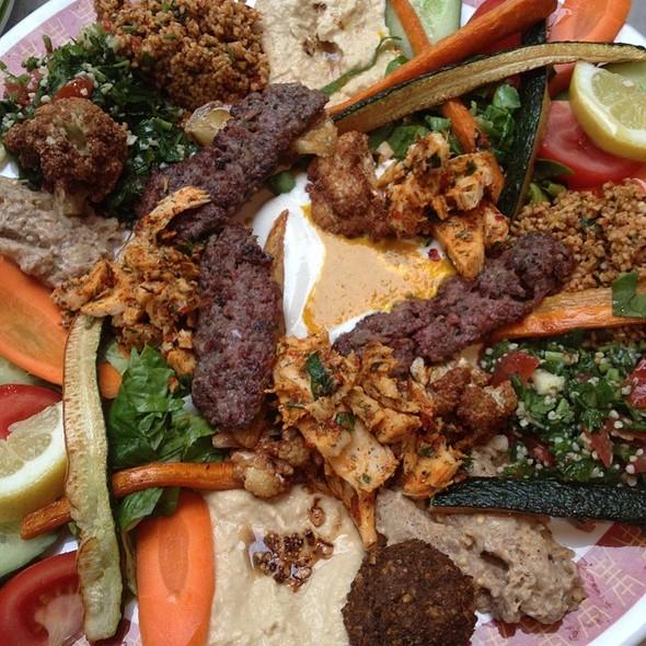 Mixed plate @ Yarok