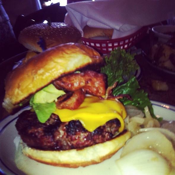 Top Sirloin Burger - F. McLintocks Saloon & Dining House, Pismo Beach, CA