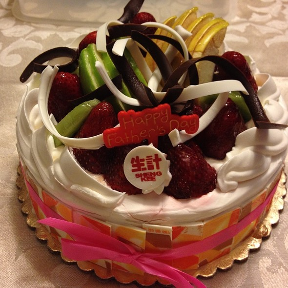 Sheng Kee Birthday Cake Culinary Site Photo Blog