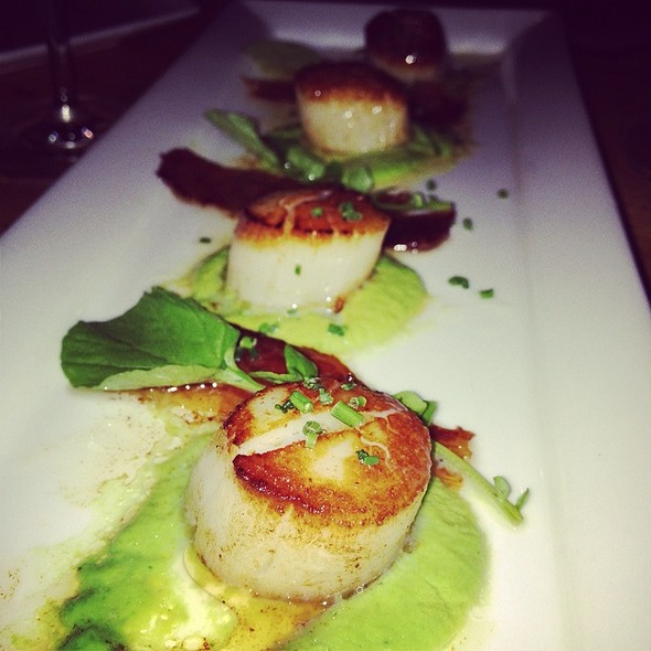 Scallops - Salt Wine Bar, Toronto, ON