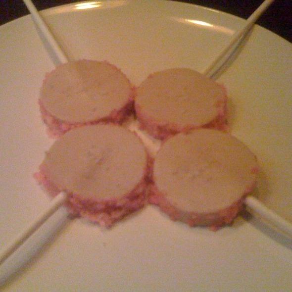 Foie Gras Lollipops @ Graham Elliot