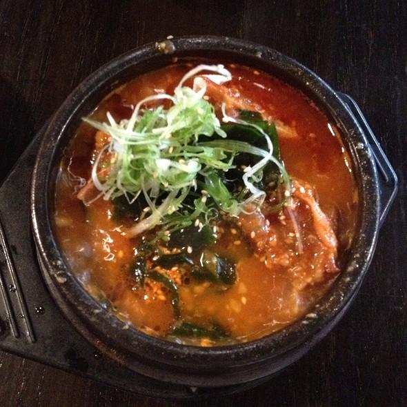 Oxtail And Tofu Hot Pot @ Gaku Yakitori