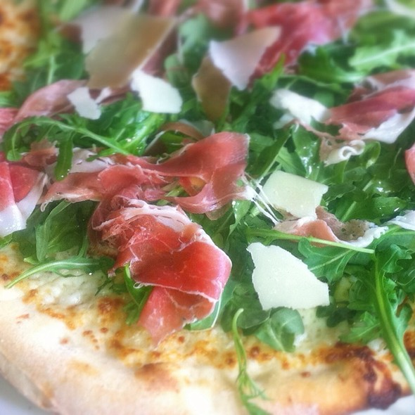 Prosciutto Arugula Pizza @ BOP Pizzeria