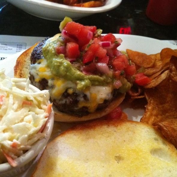 Green Monster burger @ Boston Burger Co