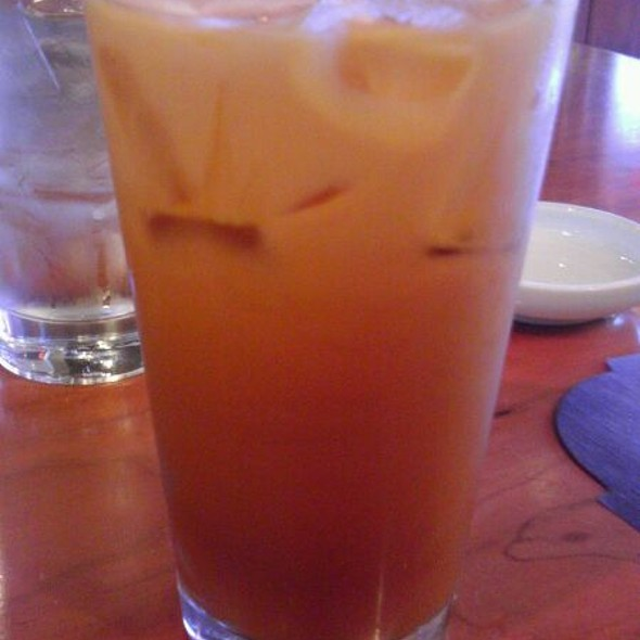 Thai Iced Tea @ HOT WOKS COOL SUSHI