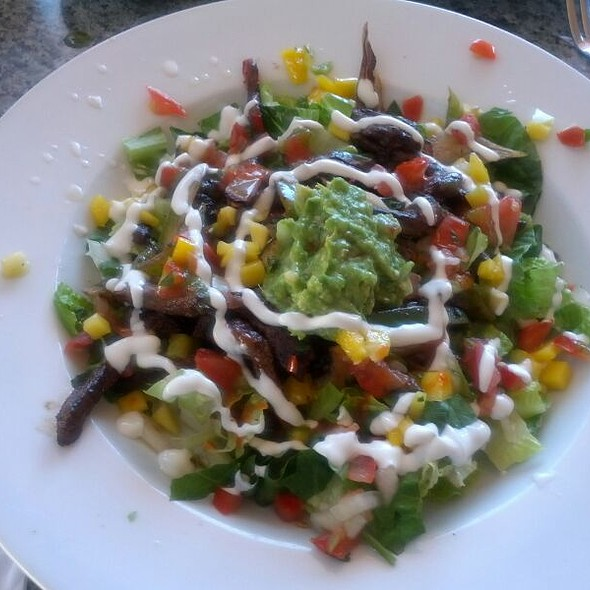 Tostada Salad With Beef