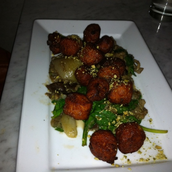 Sweet Potato Gnocchi @ Char No. 4