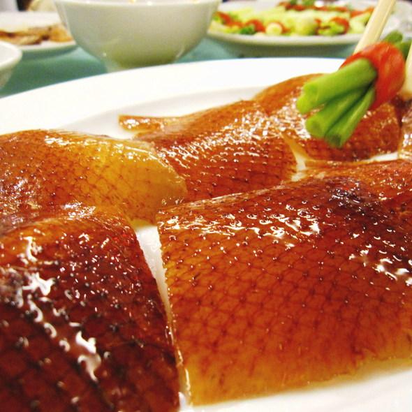 Grilled Duck Skin @ Shangarila Restaurant