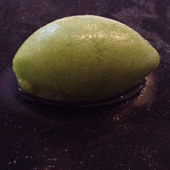 Frozen Lemon Verbena @ Frantzén/Lindeberg