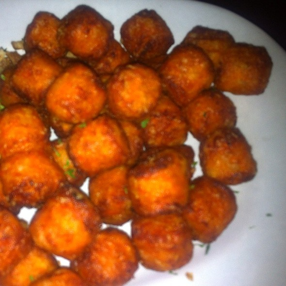 Sweet Potato Tater Tots - Emerald Loop Bar and Grill, Chicago, IL