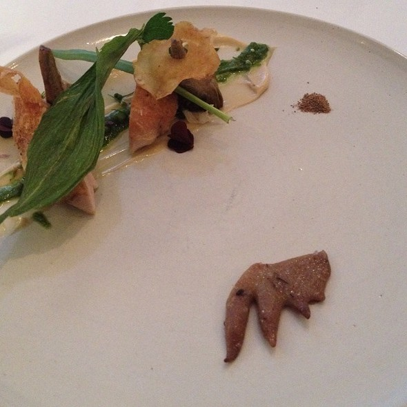 Old Chicken With Cockscomb And Salted Butter @ Frantzén/Lindeberg
