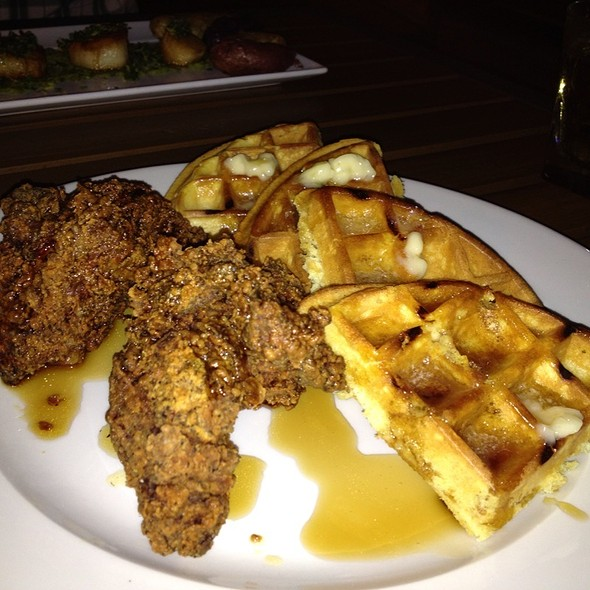 Chicken and Waffles - Granary Tavern, Boston, MA