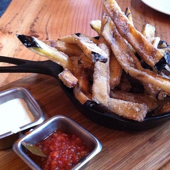 Eggplant Fries - Café 21 – Gaslamp, San Diego, CA