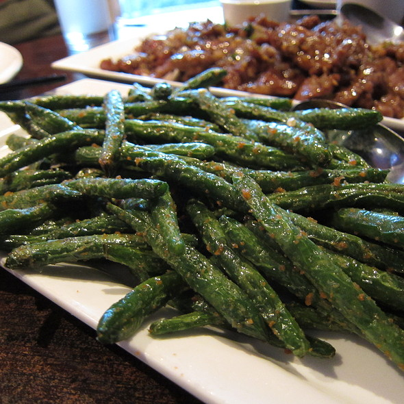 Szechuan String Beans @ Lao You Ju