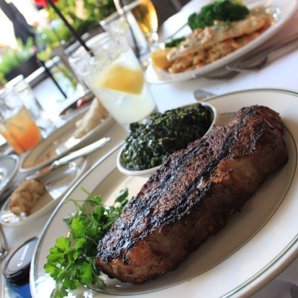 New York Steak - The Grill on Hollywood, Hollywood, CA