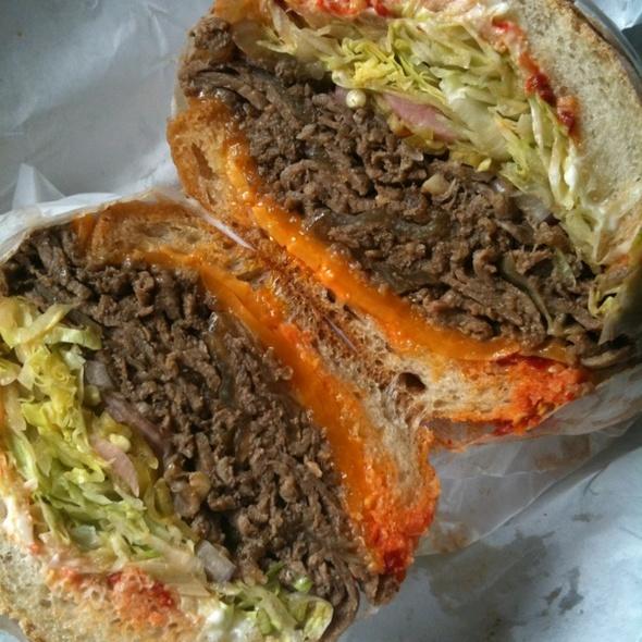 Korean Steak Sandwich @ Rhea's Deli