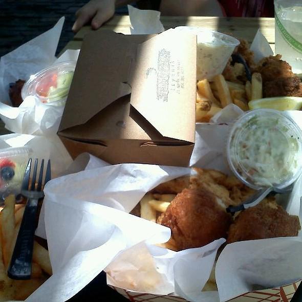 Fried Clam Basket @ Timotis' Fry Shak