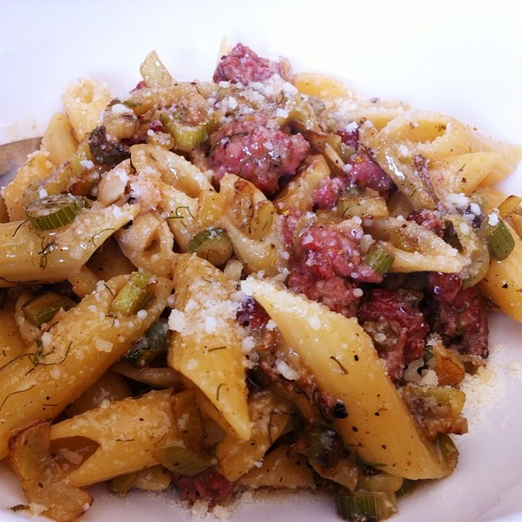 Penne with Sausage @ franny's