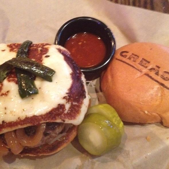 Burn In Hell Burger @ Grease Burger Bar