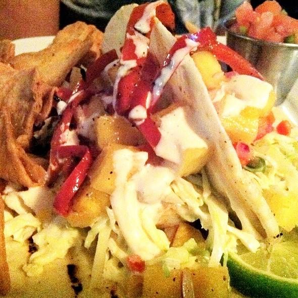 Carribean Shrimp Tacos @ Local Catch Bar & Grill