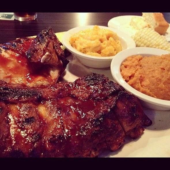 Barbecue Chicken And Pork Ribs - Newport Rib Company, Costa Mesa, CA