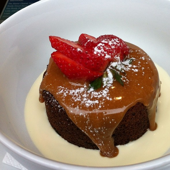Sticky Date Pudding With Dulce De Leche @ The Fine Food Store & Cafe