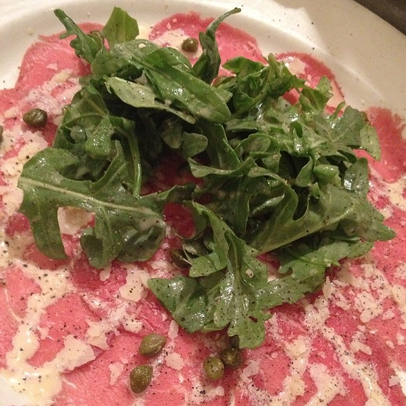 Beef Carpaccio - Mi Piace, Pasadena, CA