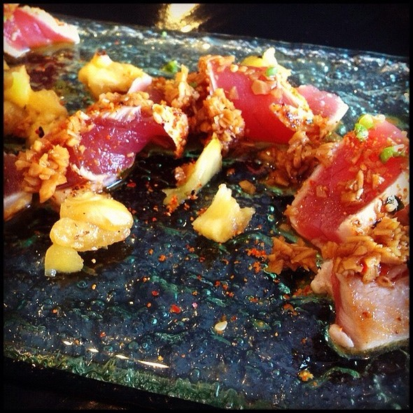 Seared Ahi @ Sensei Sushi Bar