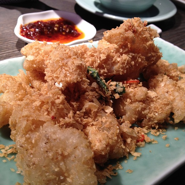 Fried Chilli Squid @ Yauatcha Ltd